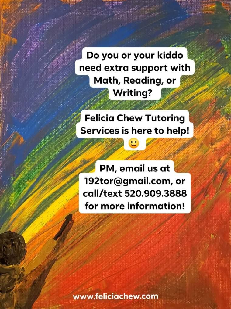 Felicia Chew Tutoring Services